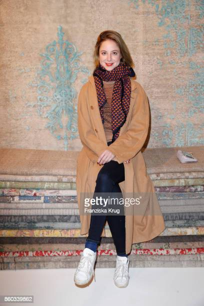 Sandra von Ruffin attends the Jan Kath Showroom Opening on October 11 2017 in Hamburg Germany