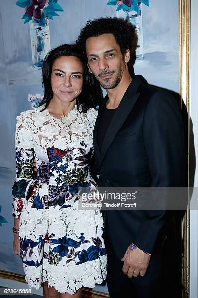 Sandra Zeitoun De Matteis and Tomer Sisley attend the Annual Charity Dinner hosted by the AEM Association Children of the World for Rwanda at...