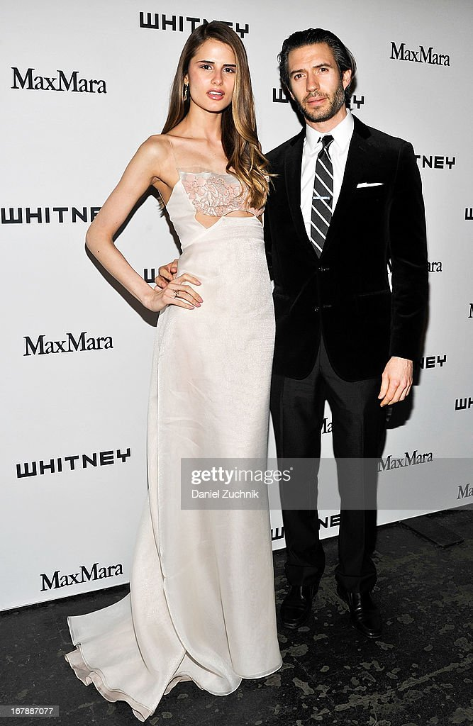 Sandrina Bencomo and Emanuel Michael attend the 2013 Whitney Art Party at Skylight at Moynihan Station on May 1, 2013 in New York City.