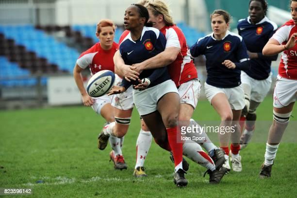 Sandrine AGRICOLE France / Pays de Galles Tournoi des 6 Nations