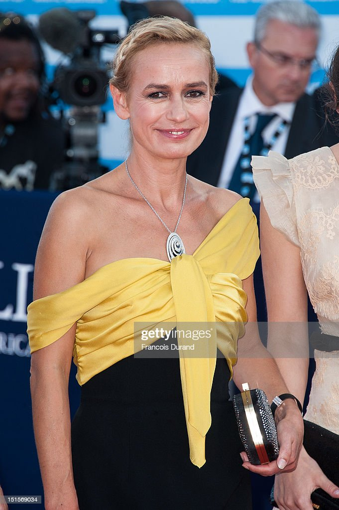 Sandrine Bonnaire arrives at the closing ceremony of the 38th Deauville American Film Festival on September 8, 2012 in Deauville, France.