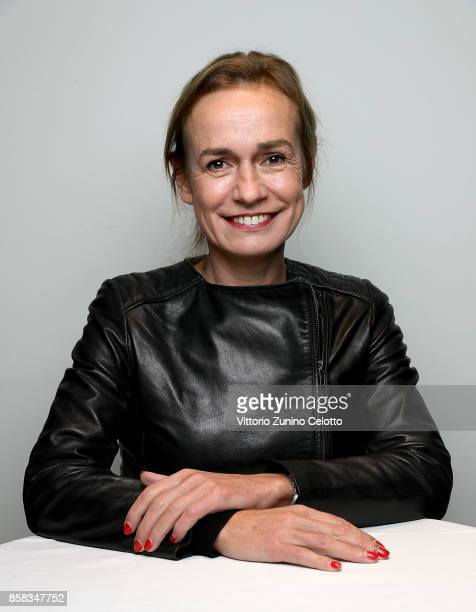 Sandrine Bonnaire attends a FilmMaker Afternoon Tea at the 61st BFI London Film Festival on October 6 2017 in London England
