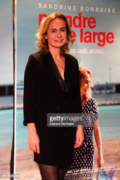 Sandrine Bonnaire during 'Prendre Le Large' Paris Premiere photocall at UGC Cine Cite des Halles on November 06 2017 in Paris France