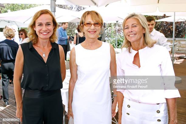 Sandrine Bonnaire Nathalie Baye and Claire Chazal attend the 10th Angouleme FrenchSpeaking Film Festival Day Six on August 27 2017 in Angouleme France