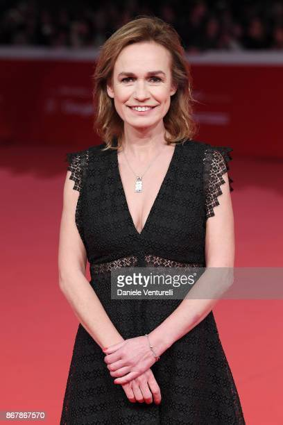 Sandrine Bonnaire walks a red carpet for 'Catch the Wind ' during the 12th Rome Film Fest at Auditorium Parco Della Musica on October 29 2017 in Rome...