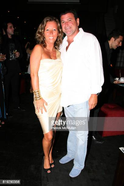 Sandrine Briere and Maurice Bitton attend PASSION STYLE PR Fashion Event at La Vie Lounge on June 17 2010 in New York City