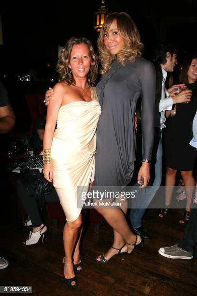 Sandrine Briere and Tia Walker attend PASSION STYLE PR Fashion Event at La Vie Lounge on June 17 2010 in New York City