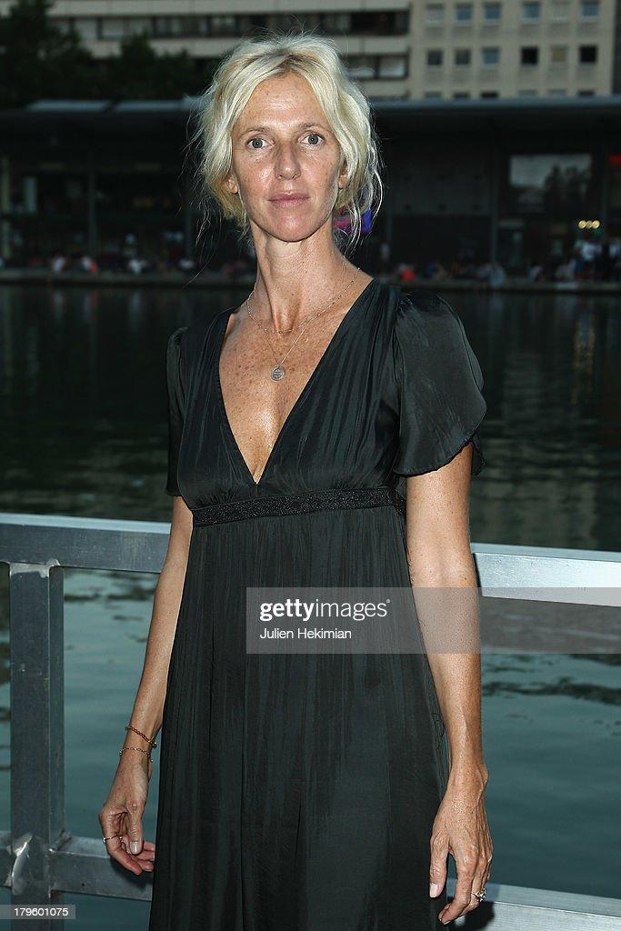 Sandrine Kiberlain attends 'Tip Top' Paris Premiere at Mk2 Quai de Seine on September 5, 2013 in Paris, France.