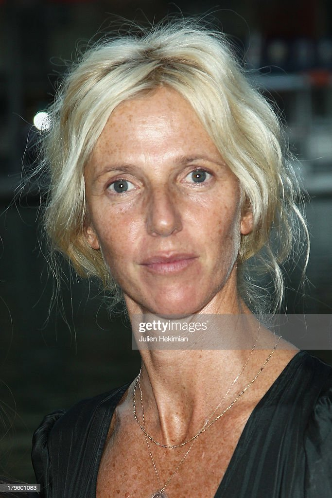 <a gi-track='captionPersonalityLinkClicked' href=/galleries/search?phrase=Sandrine+Kiberlain&family=editorial&specificpeople=832890 ng-click='$event.stopPropagation()'>Sandrine Kiberlain</a> attends 'Tip Top' Paris Premiere at Mk2 Quai de Seine on September 5, 2013 in Paris, France.