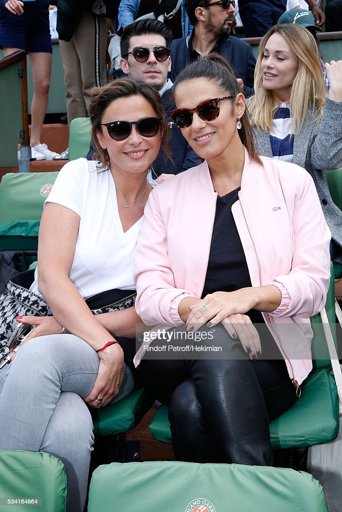 Celebrities at French Open 2016 - Day Four