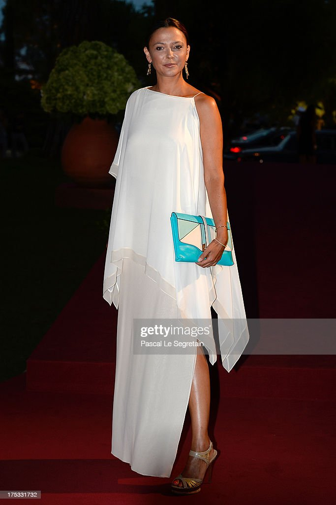 Sandrine Quetier attends the 65th Monaco Red Cross Ball Gala at Sporting Monte-Carlo on August 2, 2013 in Monte-Carlo, Monaco.