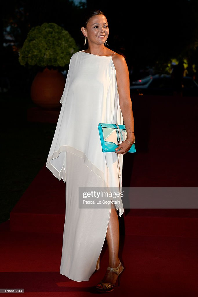 Sandrine Quetier attends the 65th Monaco Red Cross Ball Gala at Sporting Monte-Carlo on August 2, 2013 in Monte-Carlo, Monaco.