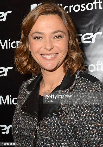 Sandrine Quetier attends the Acer Pop Up Store Launch Party at Les Halles on November 20 2014 in Paris France