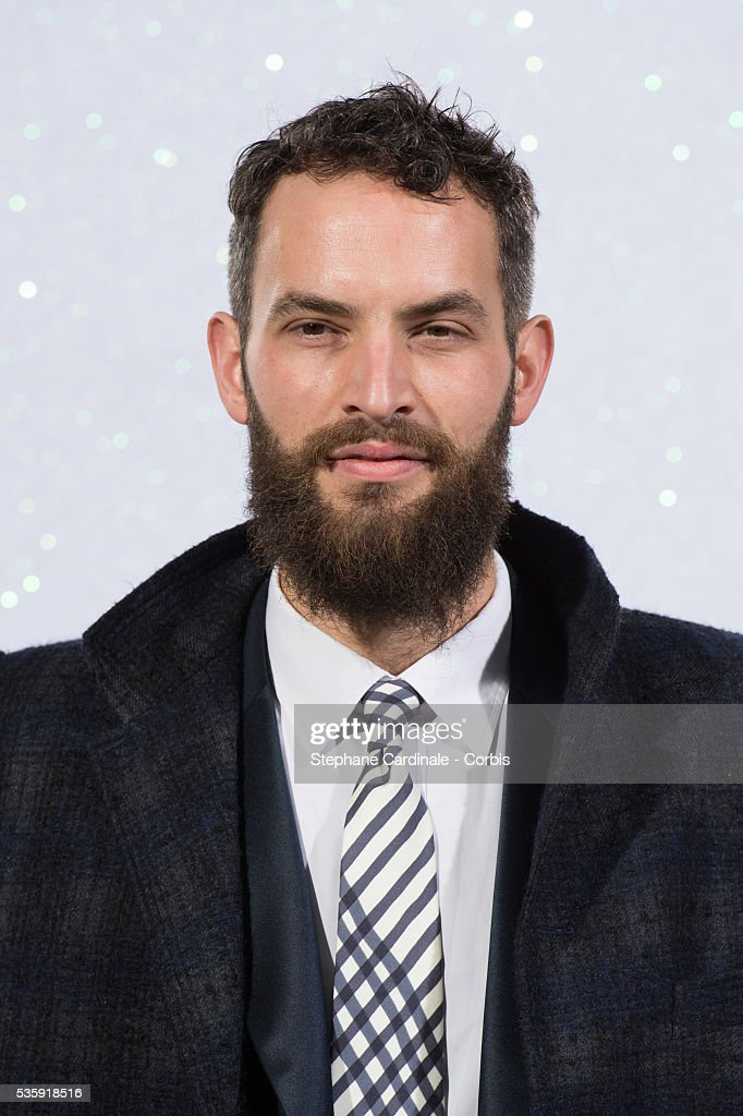 Sandro Kopp attends the Chanel show as part of Paris Fashion Week Haute-Couture Spring/Summer 2014, at Grand Palais in Paris.