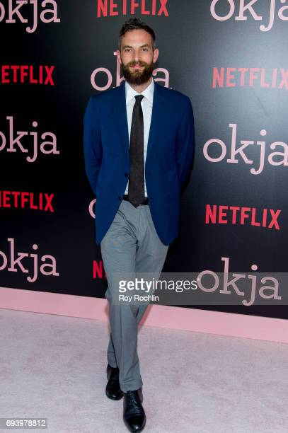 Sandro Kopp attends the New York premiere of 'Okja' at AMC Lincoln Square Theater on June 8 2017 in New York City