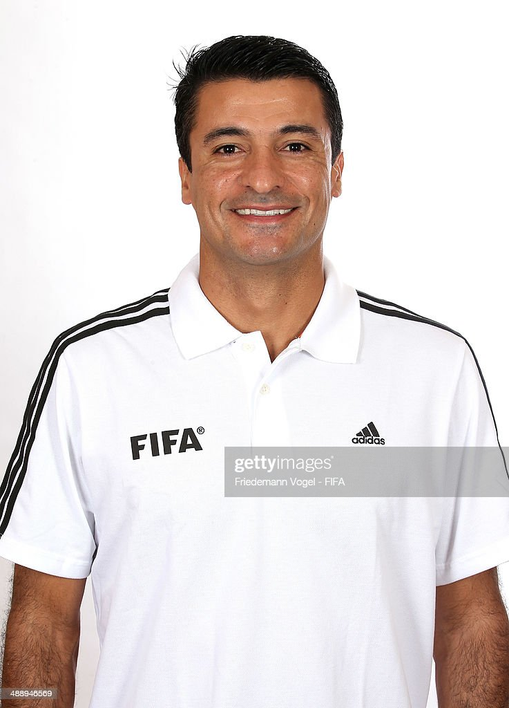 Sandro Meira Ricci poses during the Workshop for Prospective Referees for the 2014 FIFA World Cup at the Windsor Barra Hotel on May 27, 2013 in Rio de Janeiro, Brazil.