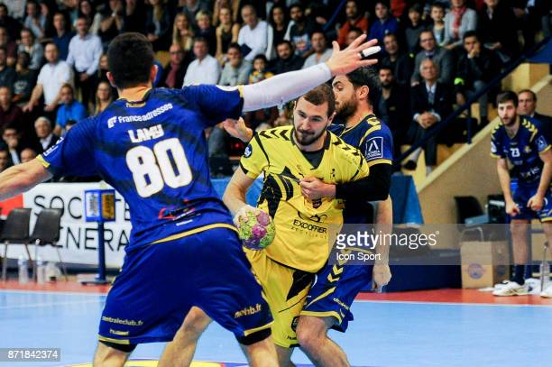 Sandro Obranovic of Chambery during the Lidl Starligue match between Massy and Chambery on November 8 2017 in Massy France