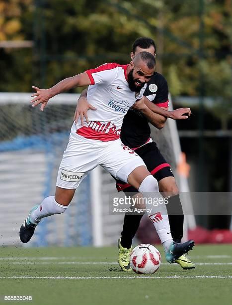 Sandro of Antalyaspor in action during the 4th round of the Ziraat Turkish Cup soccer match between Etimesgut Belediyespor and Antalyaspor at Ataturk...