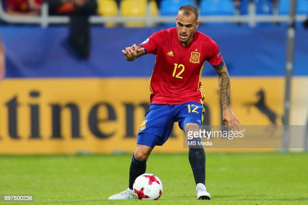 Sandro Ramirez during the UEFA European Under21 match between Spain and FYR Macedonia on June 17 2017 in Gdynia Poland