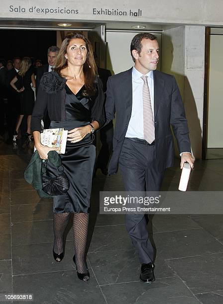 Sandro Rosell attends the 'Planeta Awards 2010' on October 15 2010 in Barcelona Spain