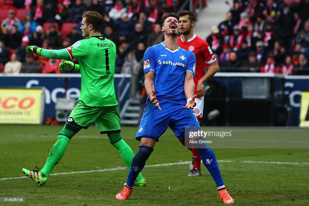1. FSV Mainz 05 v SV Darmstadt 98 - Bundesliga