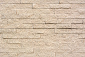 Sandstone brick wall texture background