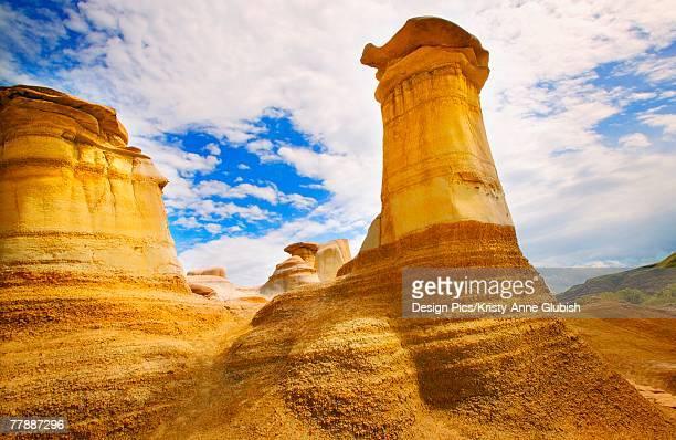 Sandstone rock formations