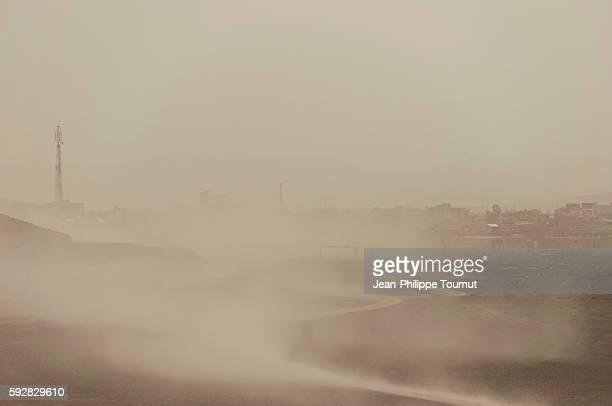 Sandstorm in western Iran