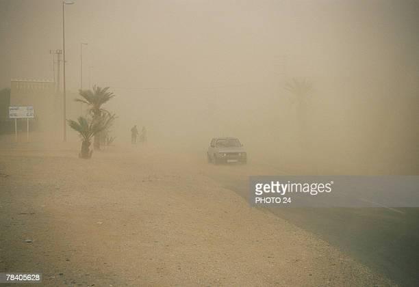 Sandstorm, Morocco