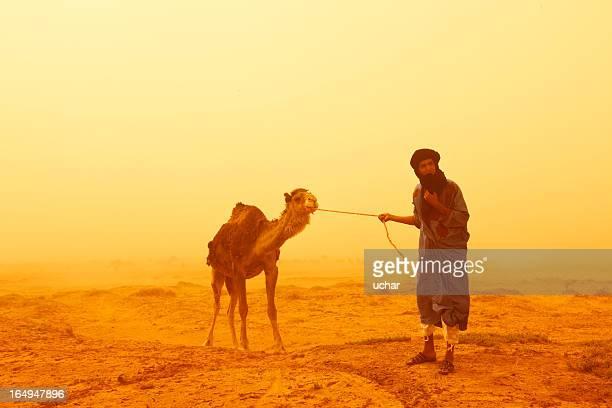 Sandstorm Sahara Desert