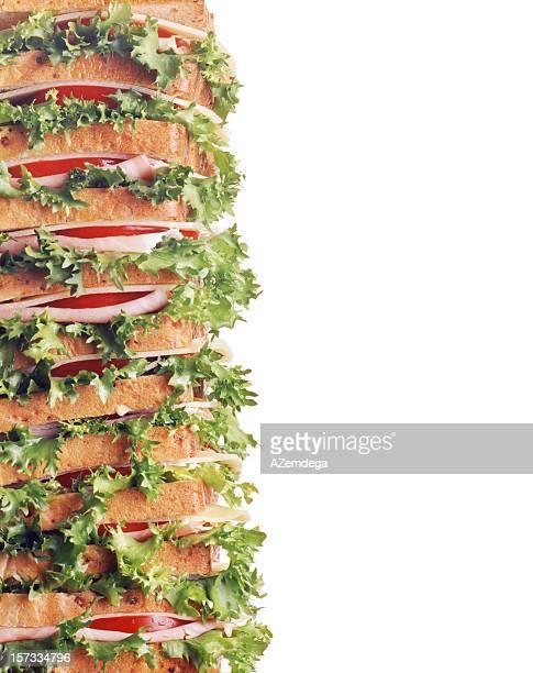 Sandwich border