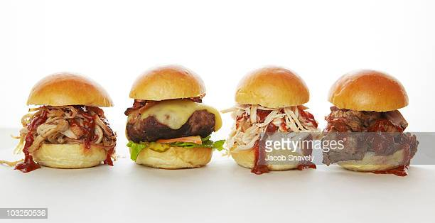 Sandwich sliders.