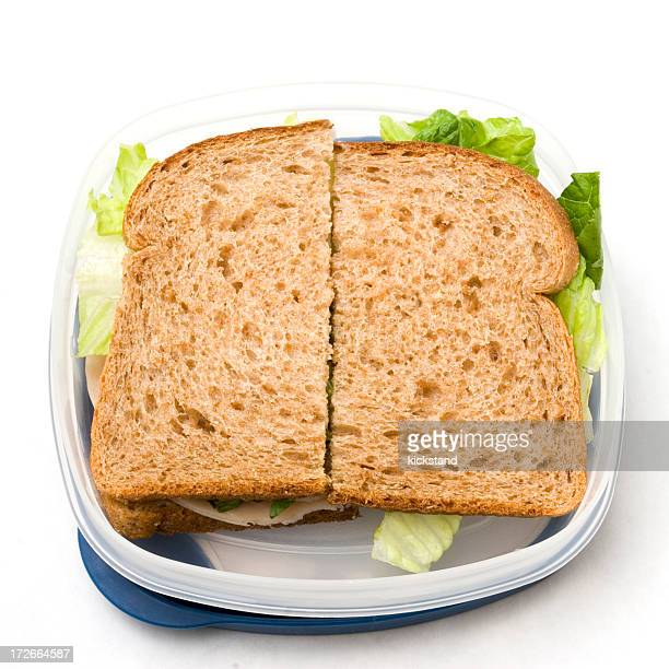 Sandwich to go with clipping path