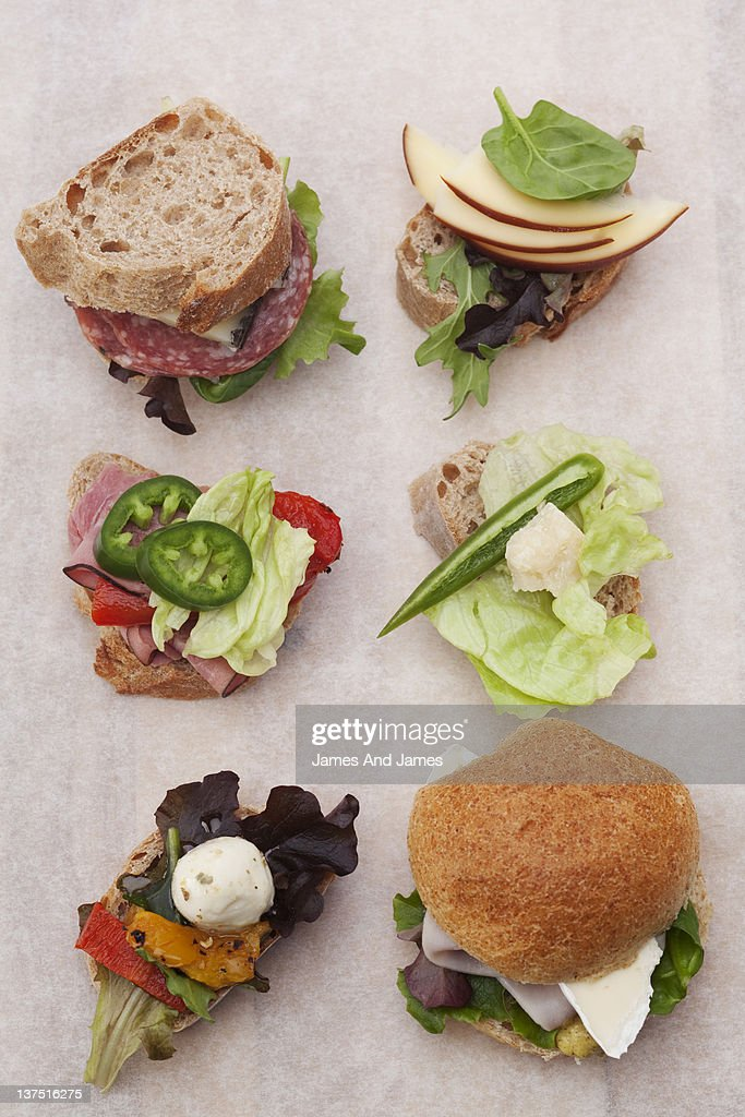 Sandwiches : Stock Photo