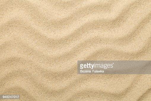 Sandy Background. Sand Beach Texture for Summer : Stock Photo