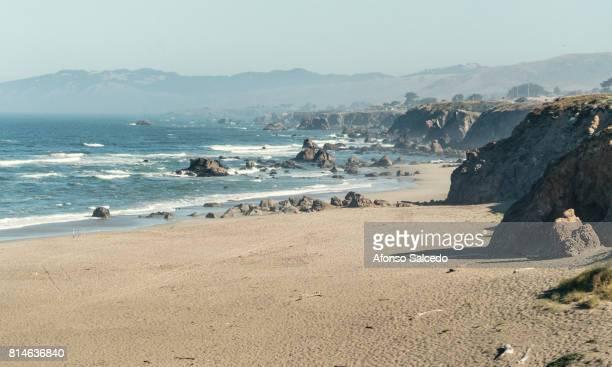 Sandy Beach in Northern California