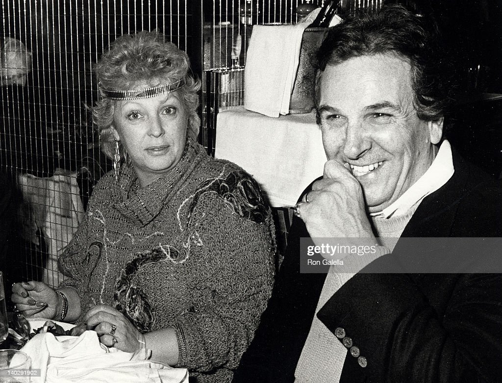 Sandy Cohen and Danny Aiello at the Regine's New Year's Eve Party Regine's New York City