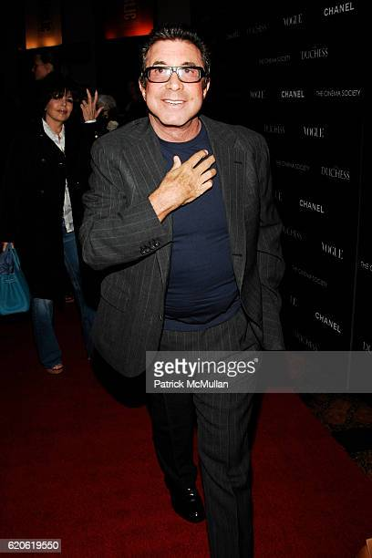 Sandy Gallin attends THE CINEMA SOCIETY with CHANEL BEAUTE VOGUE host a screening of 'THE DUCHESS' at The Public Theater on September 10 2008 in New...