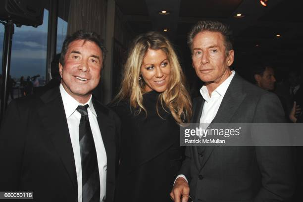 Sandy Gallin Marci Klein and Calvin Klein attend WELCOME TO GULU EXHIBITION AND BENEFIT ART SALE ANTIHUMAN TRAFFICKING INNITIATIVE at The United...