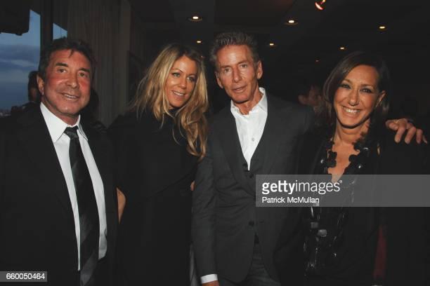 Sandy Gallin Marci Klein Calvin Klein and Donna Karan attend WELCOME TO GULU EXHIBITION AND BENEFIT ART SALE ANTIHUMAN TRAFFICKING INNITIATIVE at The...