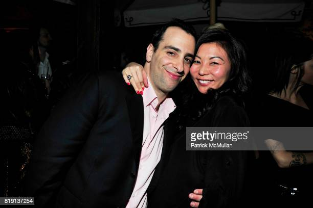 Sandy Heller Christine Kim attend NICOLAS BERGGRUEN's 2010 Annual Party at the Chateau Marmont on March 3 2010 in West Hollywood California