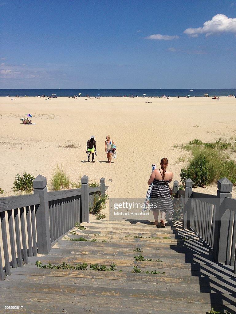 Sandy hook beach New Jersey United States
