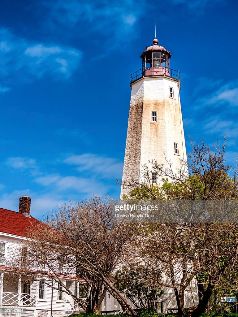 Sandy Hook Lighthouse and keepers residence