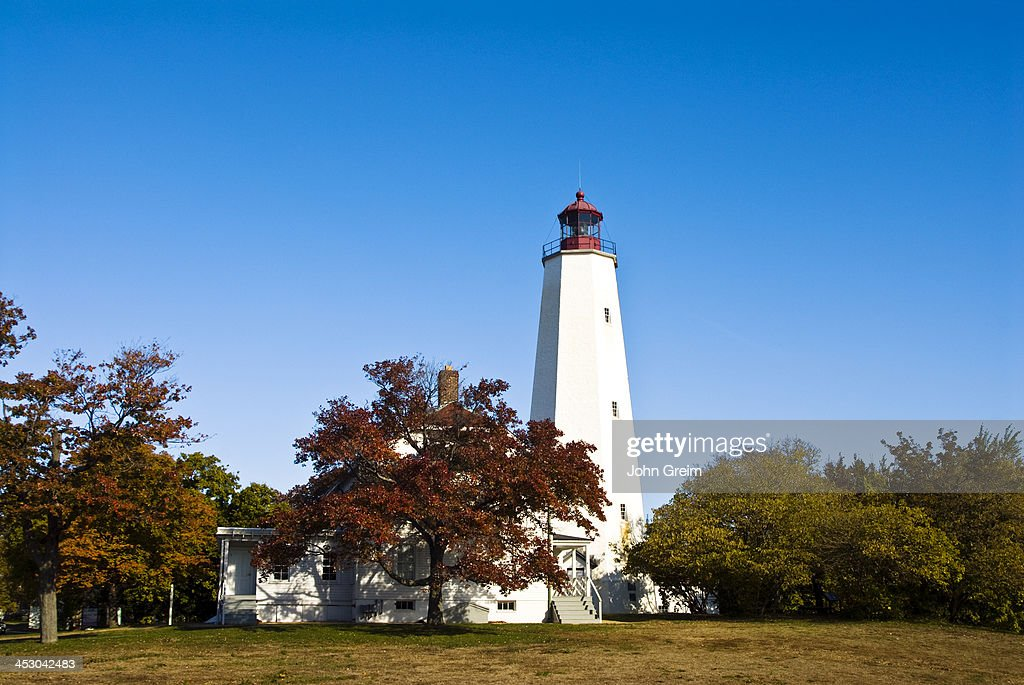 Sandy Hook Lighthouse Oldest working lighthouse in the United States designed and built by Isaac Conro