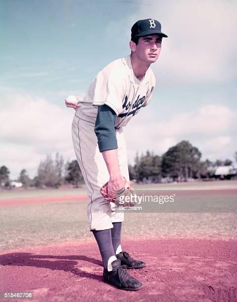 Sandy Koufax of the Brooklyn Dodgers