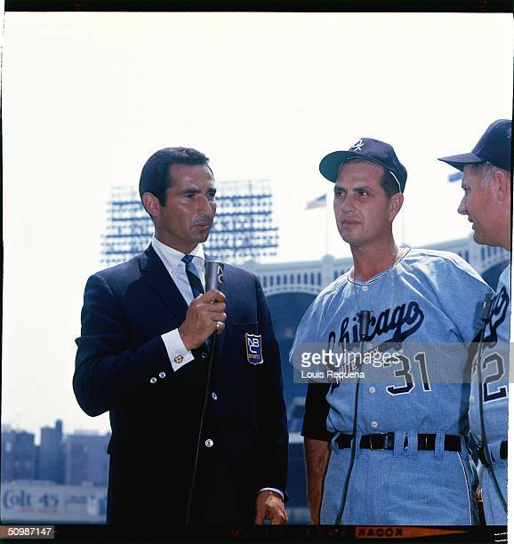 Sandy Koufax played for the Brooklyn/Los Angeles Dodgers from 1955 1966 and had a five years career as a colour commentator for NBC after he retired...