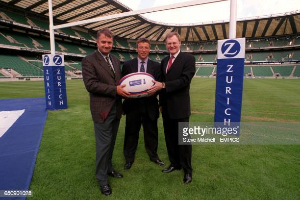 Sandy Leitch Chief Executive of Zurich Financial Sevices UK Rob Andrew Newcastle Falcons Director of Rugby and Howard Thomas Chief Executive of ERP