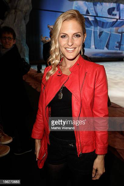 Sandy Moelling attends the Ice Age Live gala premiere at ISS Dome on November 12 2012 in Duesseldorf Germany