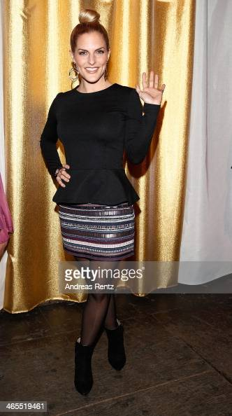 Sandy Moelling attends the Lambertz Monday Night at Alter Wartesaal on January 27 2014 in Cologne Germany