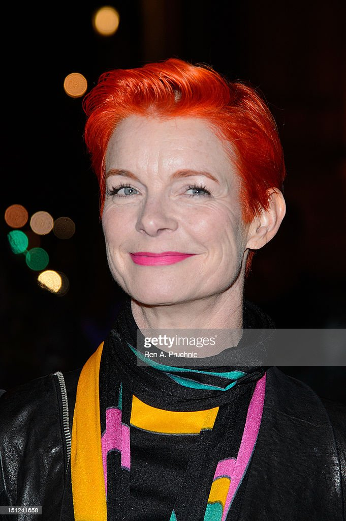 Sandy Powell attends the Hollywood Costume gala dinner at Victoria & Albert Museum on October 16, 2012 in London, England.